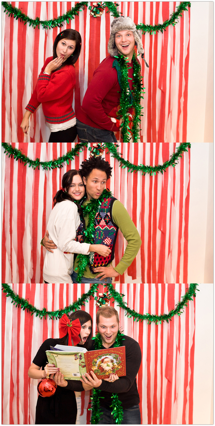 Christmas Sweater Photobooth Mikaela Ruth
